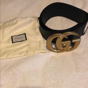 Women's Black Gucci Belt